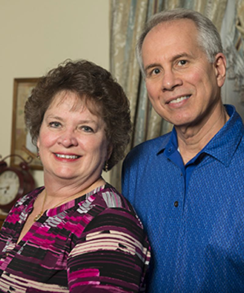 jo anne and her husband bill